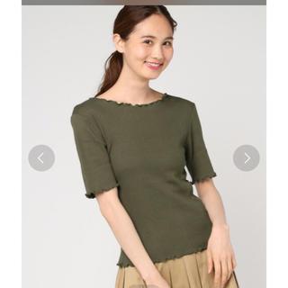 ミスティウーマン(mysty woman)のランダムテレコハーフスリーブTシャツ(Tシャツ(半袖/袖なし))