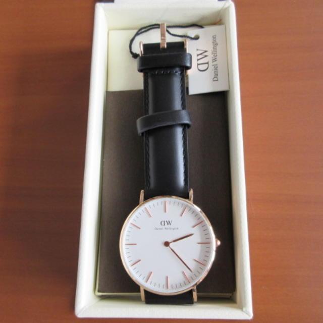 Daniel Wellington(ダニエルウェリントン)のDaniel Wellington ダニエルウェリントン 時計 メンズの時計(レザーベルト)の商品写真