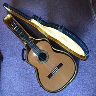 手造りギターの工芸品 松岡良治 クラシックギター M40 美品(クラシックギター)