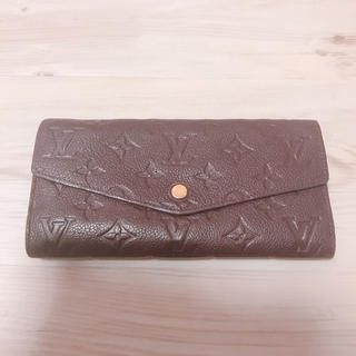 ルイヴィトン(LOUIS VUITTON)のLOUIS  VUITTON 紫 財布(財布)