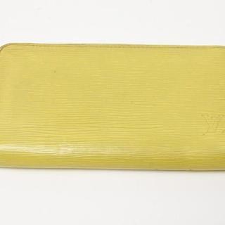 ルイヴィトン(LOUIS VUITTON)の美品 ヴィトン ラウンド財布 黄色(財布)