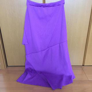 ジーヴィジーヴィ(G.V.G.V.)のGVGV リブマーメイド スカート(ひざ丈スカート)