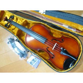 高級 国産ビオラ SUZUKI No.300 15.5インチ 新品弓付属品セッ(ヴィオラ)
