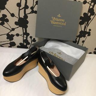 ヴィヴィアンウエストウッド(Vivienne Westwood)のKAKU様専用❤️ワールズエンド限定刻印 🦋新品💫バレリーナ(ハイヒール/パンプス)