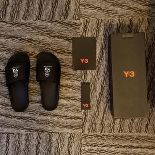 ワイスリー(Y-3)のY-3 サンダル 25.5 Yohji Yamamoto ヨウジヤマモト Y's(サンダル)