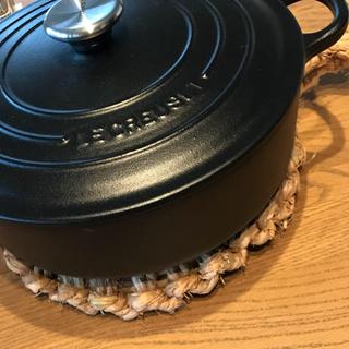 わら鍋敷き 24センチ(雑貨)