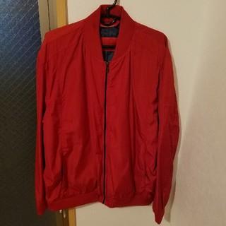 ザラ(ZARA)のzara MA-1 red(ブルゾン)