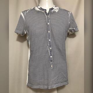 ニールバレット(NEIL BARRETT)のNeIL Barrett ニールバレット ボーダーペイントTシャツ XS(Tシャツ/カットソー(半袖/袖なし))