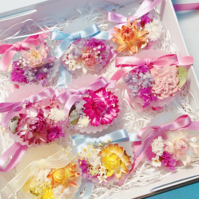 sweet mini sachat❤︎ ハンドメイドのフラワー/ガーデン(ドライフラワー)の商品写真