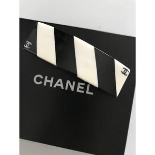シャネル(CHANEL)のCHANEL バレッタ 新品!(バレッタ/ヘアクリップ)