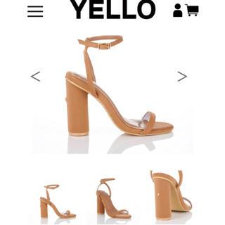 イエローブーツ(Yellow boots)のyellow boots shoes イエロー サンダル 星あや Sサイズ(サンダル)