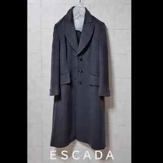 エスカーダ(ESCADA)の極美品 超高級 ESCADA  エレガントコート おしゃれデザイン エスカーダ(チェスターコート)
