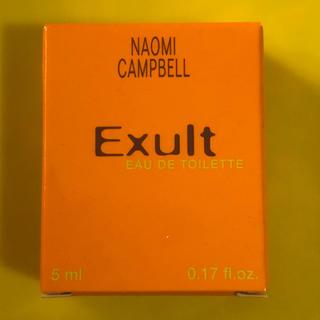 ナオミキャンベル(Naomi Campbell)のレア香水! ナオミキャンベル エクザルト(香水(女性用))