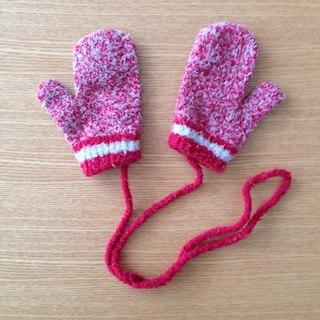 ムジルシリョウヒン(MUJI (無印良品))の無印良品 のびのびミトン手袋 ベビー(手袋)