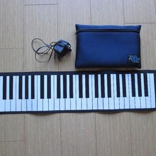 美品★ピアノ hand roll piano ハンドロール ★ACアダプター付!(その他)