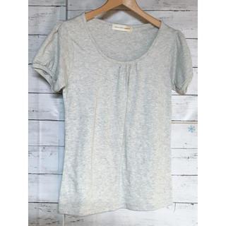 アパートメントマーケット(apartment market)の★グレーのタック入Tシャツ★(Tシャツ(半袖/袖なし))