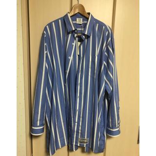 バレンシアガ(Balenciaga)の新品 vetements ヴェトモン 18ss ストライプシャツ(シャツ)