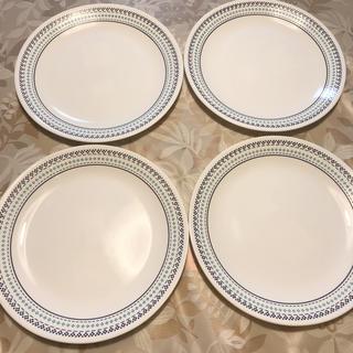 コレール(CORELLE)のコレール フォークスティッチ 26㎝ 4枚セット(食器)