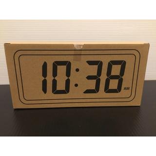 MUJI (無印良品) - 新品 無印 デジタル時計 大