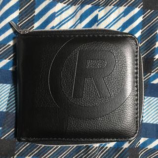 エクストララージ(XLARGE)のラウンドジップ型レザー財布(折り財布)