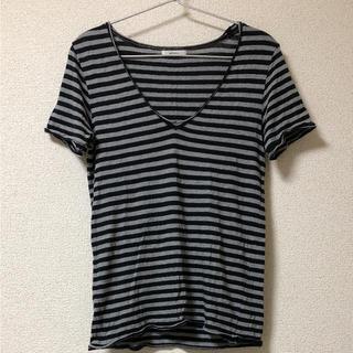 アズヴィーナス(ASVENUS)のAS VENUS ボーダー Tシャツ(Tシャツ/カットソー(半袖/袖なし))