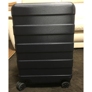 ムジルシリョウヒン(MUJI (無印良品))の無印 スーツケース 35L ネイビー(トラベルバッグ/スーツケース)