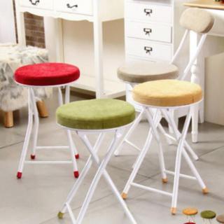 折りたたみ クッション コンパクト チェア 座椅子(折り畳みイス)