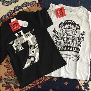ジーユー(GU)の【新品】ウルトラマン Tシャツ 110cm(Tシャツ/カットソー)