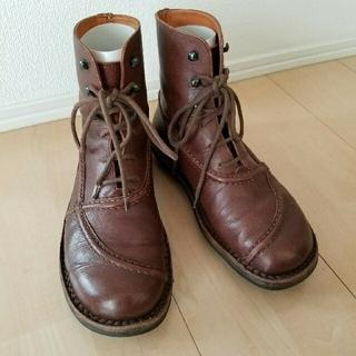トリッペン(trippen)のtrippen トリッペン☆ショートブーツ 37   レッドウィング(ローファー/革靴)
