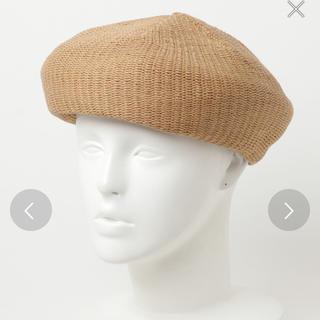 イーハイフンワールドギャラリー(E hyphen world gallery)のペーパーサーモベレー帽(ハンチング/ベレー帽)