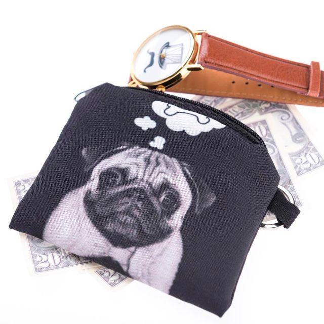 パグ パグコインケース・小銭入れ パグ小物入れ♪ 新品未使用品♪ レディースのファッション小物(コインケース)の商品写真