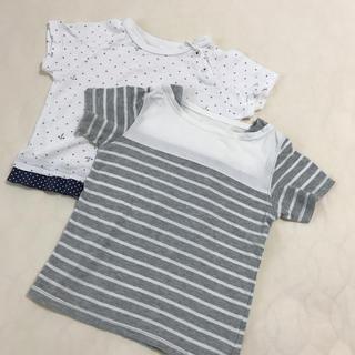ムジルシリョウヒン(MUJI (無印良品))の100サイズ・Tシャツ(Tシャツ/カットソー)