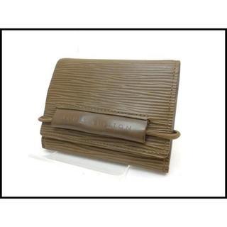 ルイヴィトン(LOUIS VUITTON)のルイヴィトン エピ エラスティック 三つ折り 財布 M6346B(財布)