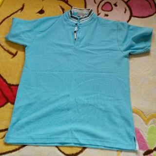 シマムラ(しまむら)の水色ポロM (ポロシャツ)
