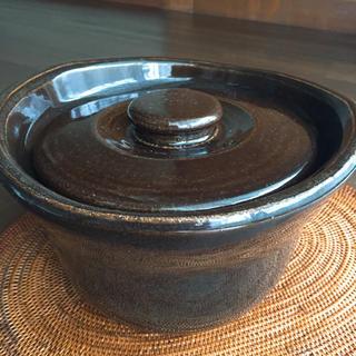 ムジルシリョウヒン(MUJI (無印良品))の無印  土釜  人気  3合【送料込み】(鍋/フライパン)