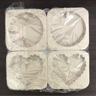 丸 ギザハート タグ型 シリコンモールド アロマワックスバー アロマストーン(アロマ/キャンドル)