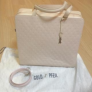 ゴールドファイル(GOLD PFEIL)のGOLD PFEIL ゴールドファイル  ベビーピンクハンドバッグ(ハンドバッグ)