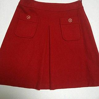 シーディーエスベーシック(C.D.S BASIC)の秋に!C.D.S 前ポケットが可愛い!スカート(ひざ丈スカート)