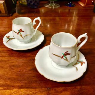 香蘭社コーヒーカップペア