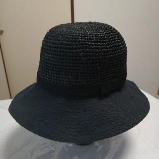 ムジルシリョウヒン(MUJI (無印良品))の【 美品 】麦わら帽子  送料込(麦わら帽子/ストローハット)
