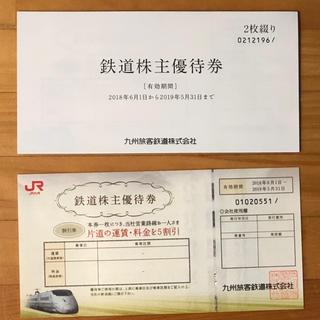JR九州 鉄道株主優待券 3枚(その他)