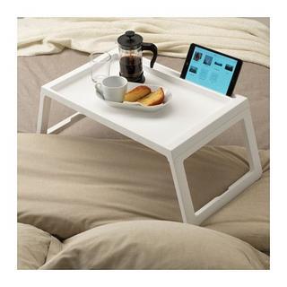 IKEA - ◇便利商品◇新品 IKEA  ベッドトレイ(白) タブレット見れる★TV紹介