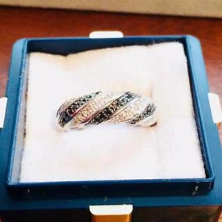 ブラックダイヤ  指輪  プレゼント(リング(指輪))