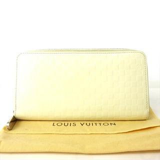 ルイヴィトン(LOUIS VUITTON)のルイヴィトン 長財布 ダミエジッピーウォレット ラウンドファスナー レディース (財布)