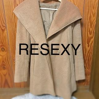 リゼクシー(RESEXXY)のRESEXY コート(ムートンコート)