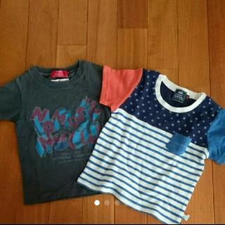 クリフメイヤー(KRIFF MAYER)のKRIFF MAYER クリフメイヤー Tシャツ 100(Tシャツ/カットソー)