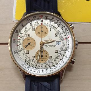 ブライトリング(BREITLING)のpeach様専用ブライトリング オールドナビタイマー  18金ベゼル(腕時計(アナログ))