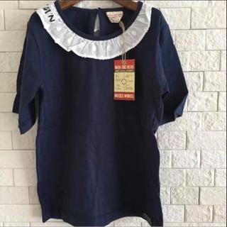 ニードルワークスーン(NEEDLE WORK SOON)の《新品》ニードルワークスーン レース襟半袖Tシャツ(Tシャツ(半袖/袖なし))
