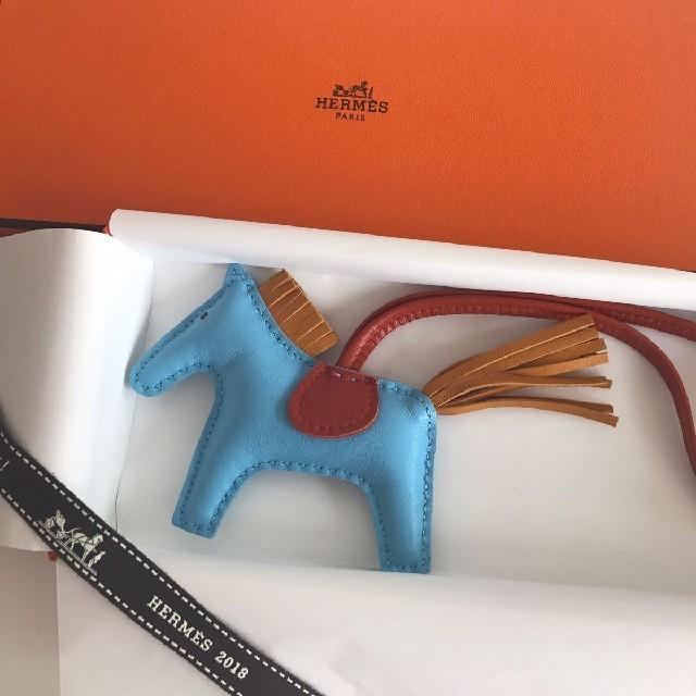 Hermes(エルメス)のCHIBITAさま専用  ロデオPM   ハンドメイドのファッション小物(バッグチャーム)の商品写真