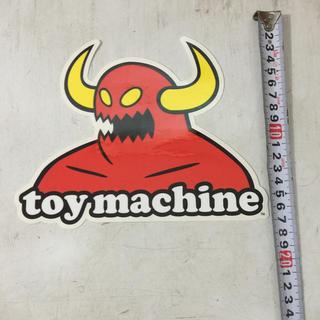 トイマシーン(Toy Machine)のTOY MACHINEステッカー(スケートボード)